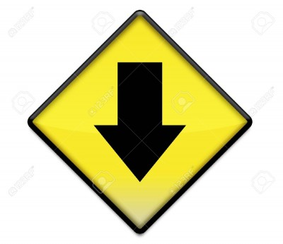 8997840-Yellow-road-sign-graphic-with-arrow-pointing-down-Stock-Photo-arrow.jpg